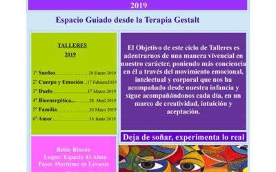 COLABORACIÓN: CICLO DE TALLERES DE CRECIMIENTO PERSONAL