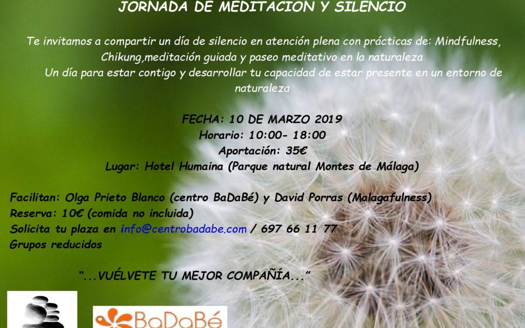 JORNADA DE MEDITACIÓN Y SILENCIO