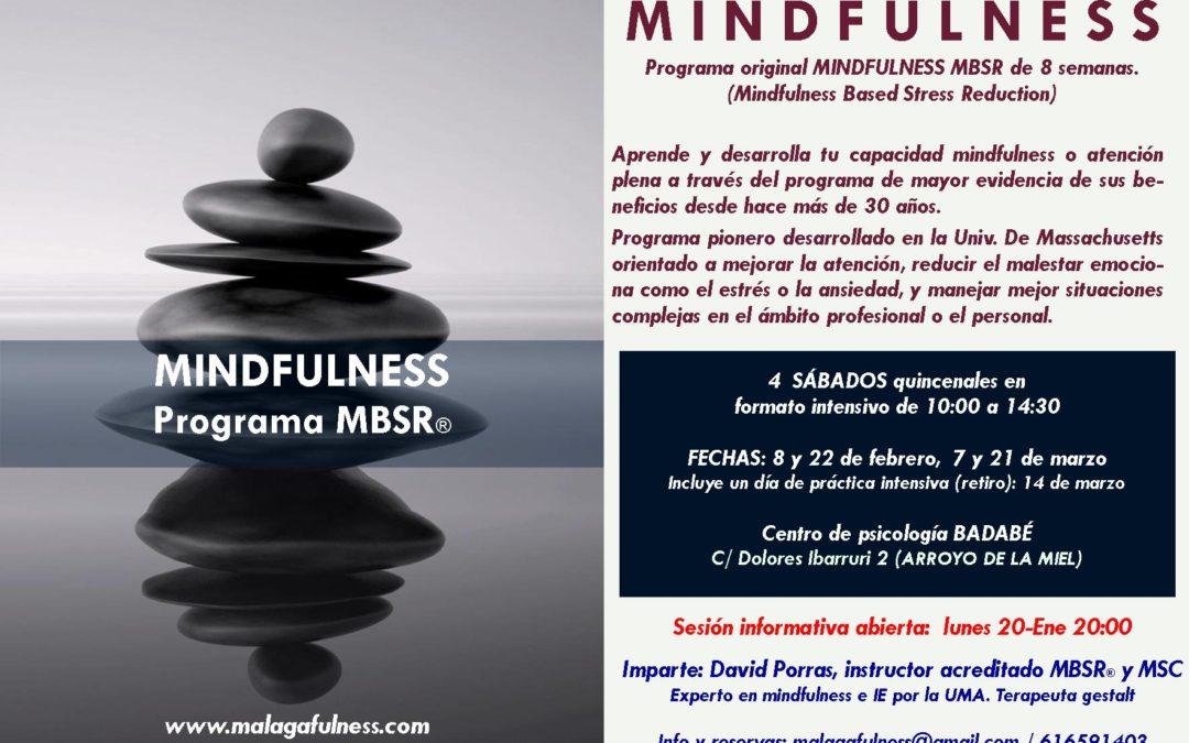 MINDFULNESS PROGRAMA DE REDUCCIÓN DEL ESTRÉS Y LA ANSIEDAD