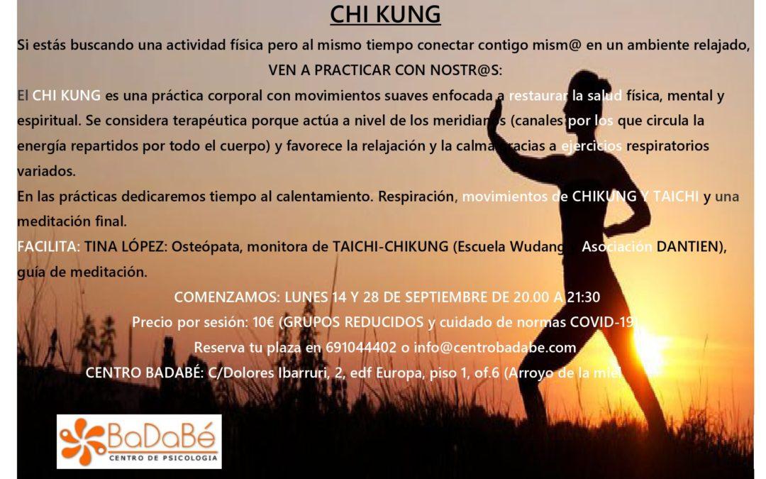 GRUPO DE PRÁCTICA DE CHIKUNG